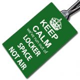 Keep Calm (Locker Space) Crew Tag